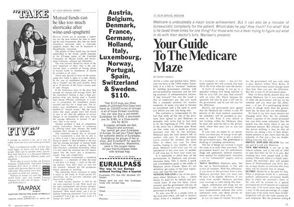 Article Preview: Your Guide To The Medicare Maze, March 1970 | Maclean's