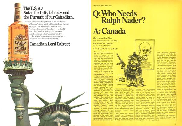 Article Preview: Q: Who Needs Ralph Nader? A: Canada, April 1970 | Maclean's