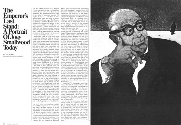 Article Preview: The Emperor's Last Stand: A Portrait Of Joey Smaliwood Today, April 1970 | Maclean's