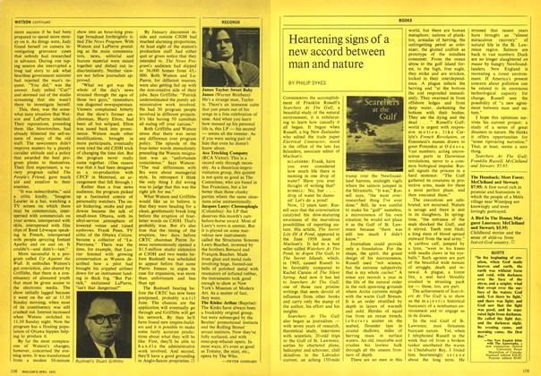 Article Preview: Heartening signs of a new accord between man and nature, April 1970 | Maclean's