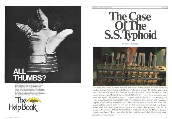 Article Preview: The Case Of The S.S. Typhoid, May 1970 | Maclean's