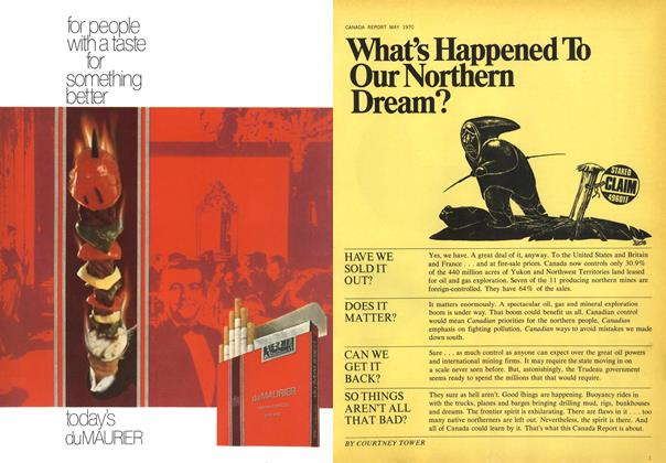 Article Preview: What's Happened To Our Northern Dream?, May 1970 | Maclean's