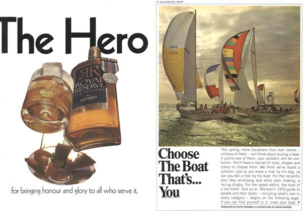 Article Preview: Choose The Boat That's... You, May 1970 | Maclean's