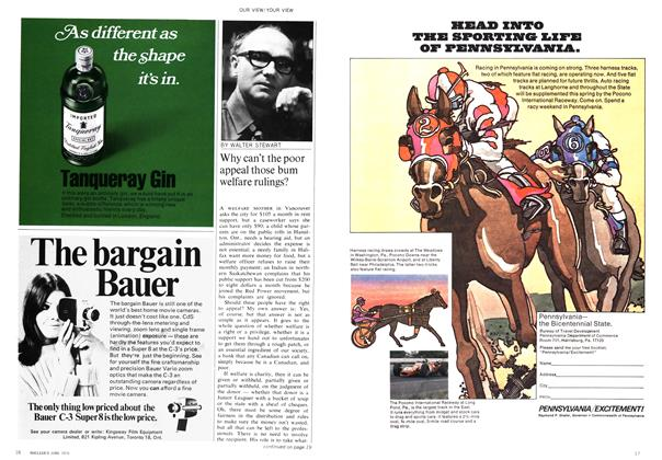 Article Preview: Why can't the poor appeal those bum welfare rulings?, June 1970   Maclean's