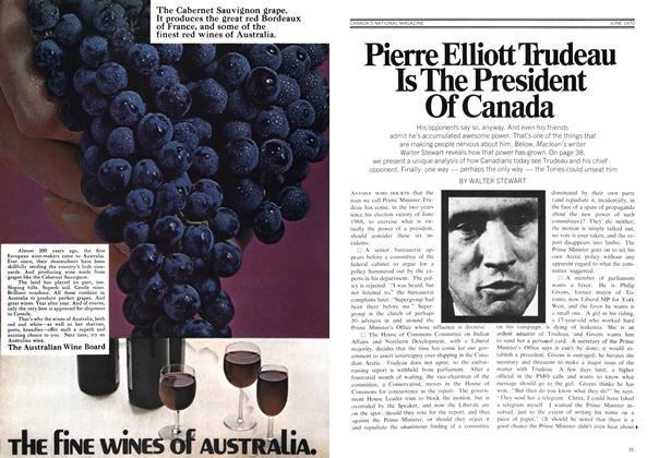 Article Preview: Pierre Elliott Trudeau Is The President Of Canada, June 1970 | Maclean's