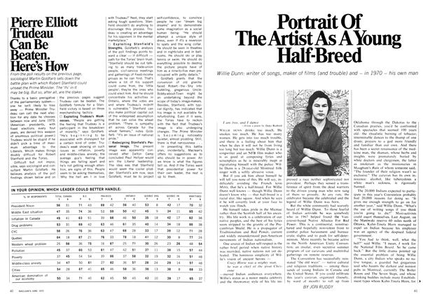 Article Preview: Portrait Of The Artist As A YOUNG Half-Breed, June 1970 | Maclean's