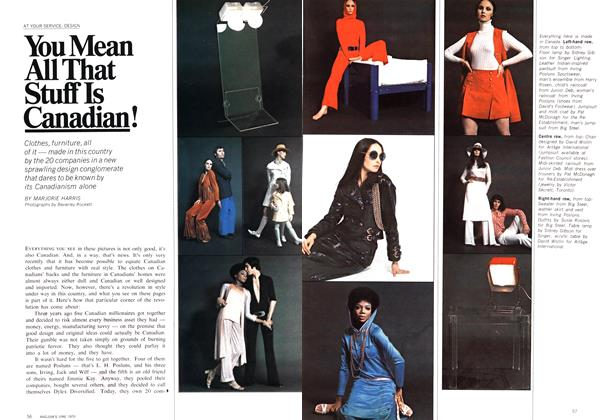 Article Preview: You Mean All That Stuff Is Canadian!, June 1970 | Maclean's