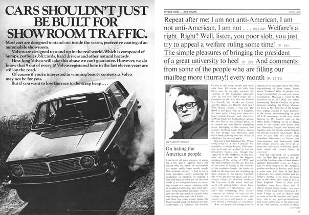 Article Preview: On hating the American people, June 1970 | Maclean's