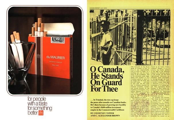 Article Preview: O Canada, He Stands On Guard For Thee, July 1970 | Maclean's