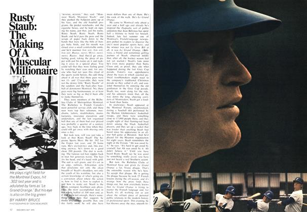 Article Preview: Rusty Staub: The Making Of A Muscular Millionaire, July 1970 | Maclean's