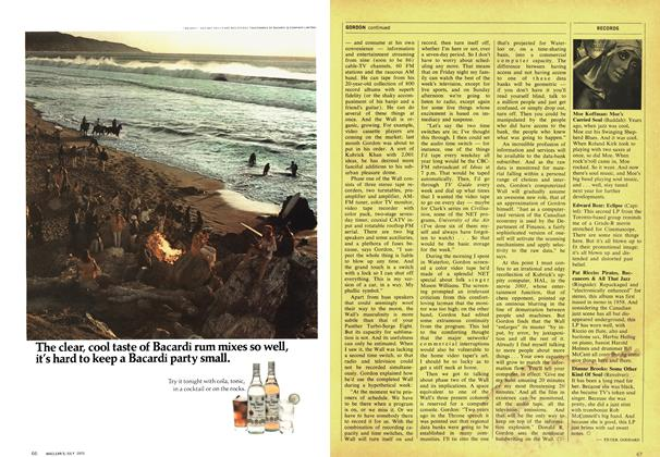 Article Preview: RECORDS, July 1970 | Maclean's