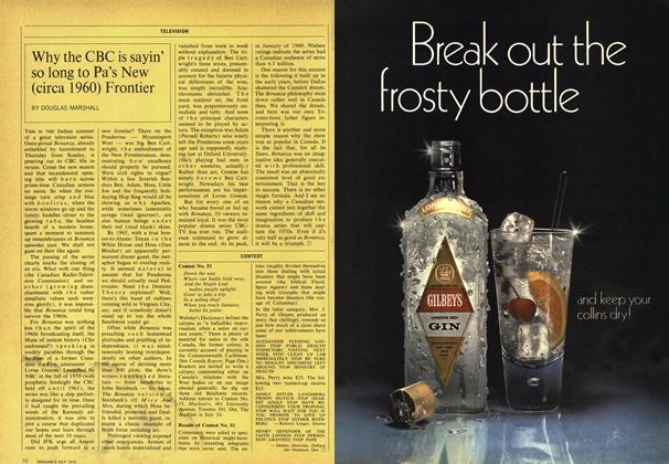 Article Preview: Why the CBC is sayin' so long to Pa's New (circa 1960) Frontier, July 1970 | Maclean's