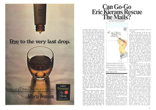 Article Preview: Can Go-Go Eric Kierans Rescue The Mails?, August 1970 | Maclean's