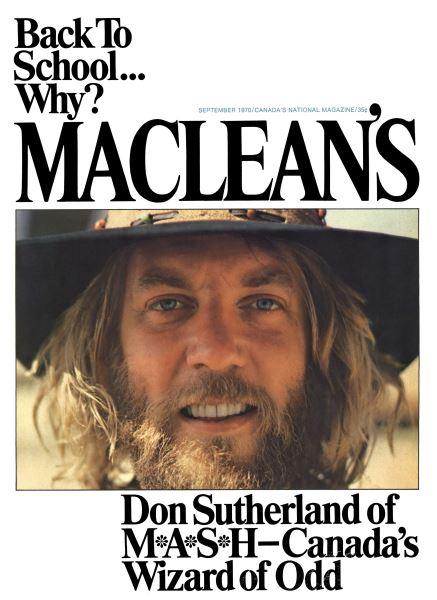 Issue: - September 1970   Maclean's