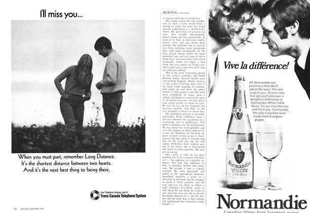 Article Preview: Advertisement: Normandie, September 1970 | Maclean's