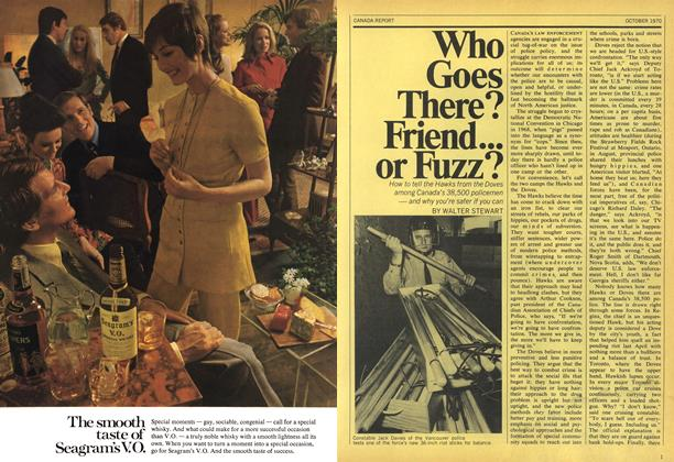 Article Preview: Who Goes There? Friend... or Fuzz?, October 1970 | Maclean's