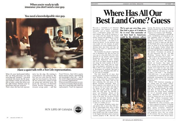 Article Preview: Where Has All Our Best Land Gone? Guess, October 1970 | Maclean's