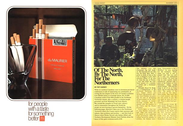 Article Preview: Of The North, By The North, For The Northerners, November 1970 | Maclean's