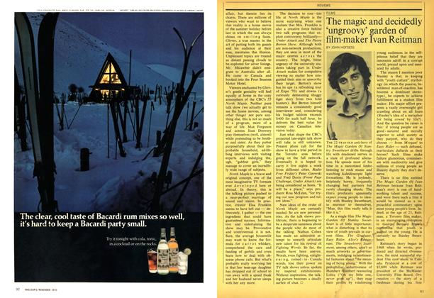 Article Preview: The magic and decidedly 'ungroovy' garden of film-maker Ivan Reitman, November 1970 | Maclean's