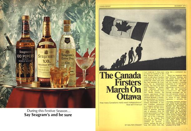 Article Preview: The Canada Firsters March On Ottawa, December 1970 | Maclean's