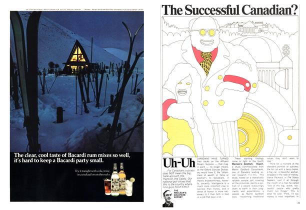 Article Preview: The Successful Canadian? Uh-Uh, December 1970 | Maclean's