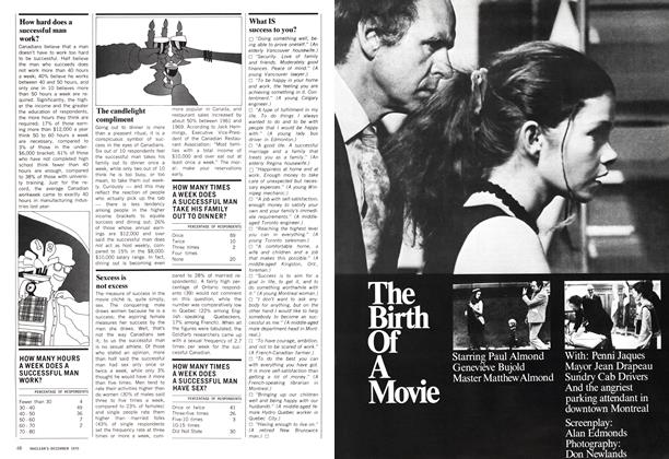 Article Preview: The Birth Of A Movie, December 1970 | Maclean's