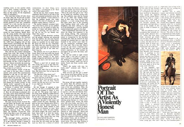 Article Preview: Portrait Of The Artist As A Violently Honest Man, February 1971 | Maclean's