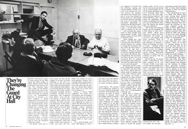 Article Preview: They're Changing The Guard At City Hall, March 1971 | Maclean's