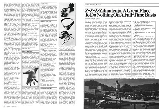 Article Preview: Z-Z-Z-Zihuatenjo, A Great Place To Do Nothing On A Full-Time Basis, March 1971 | Maclean's
