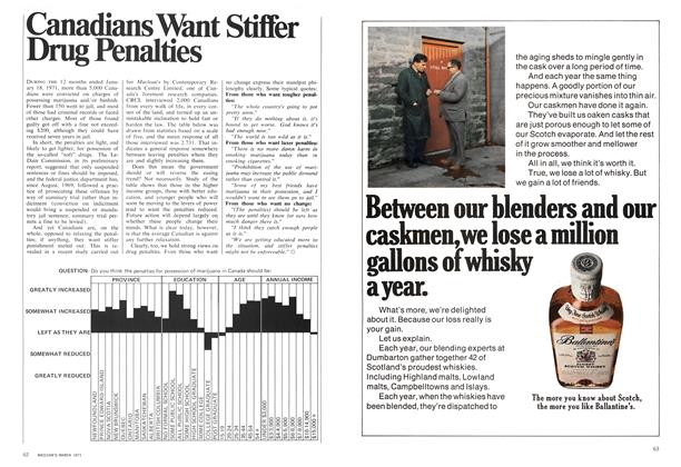Article Preview: Canadians Want Stiffer Drug Penalties, March 1971 | Maclean's