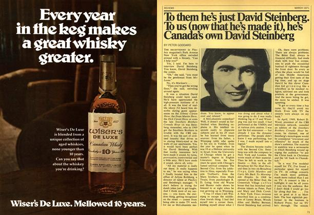 Article Preview: To them he's just David Steinberg. To us (now that he's made it), he's Canada's own David Steinberg, March 1971 | Maclean's