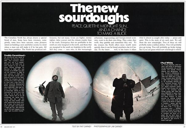 Article Preview: The new sourdoughs, May 1971 | Maclean's