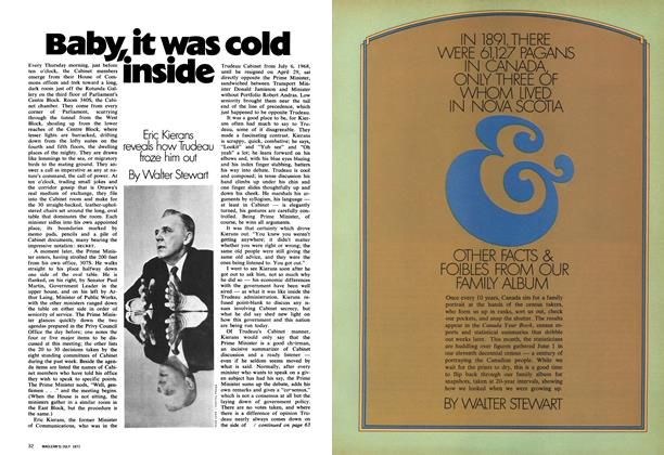 Article Preview: Baby, it was cold inside, July 1971 | Maclean's