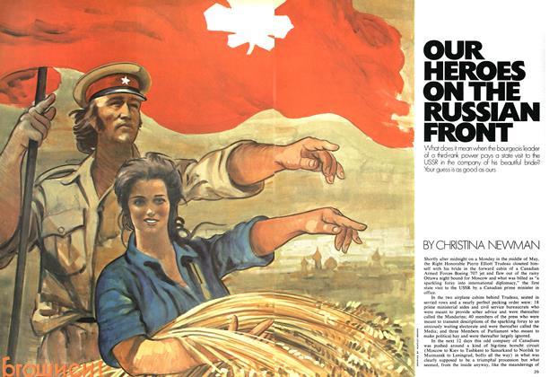 Article Preview: OUR HEROES ON THE RUSSIAN FRONT, August 1971 | Maclean's