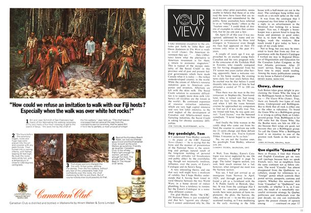 Article Preview: YOUR VIEW, August 1971 | Maclean's