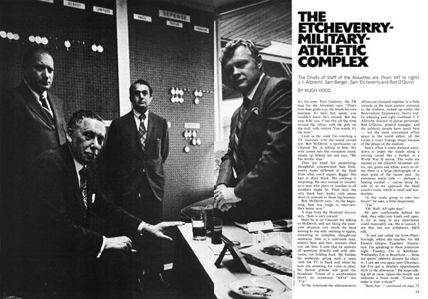 Article Preview: THE ETCHEVERRY-MILITARY-ATHLETIC COMPLEX, September 1971 | Maclean's