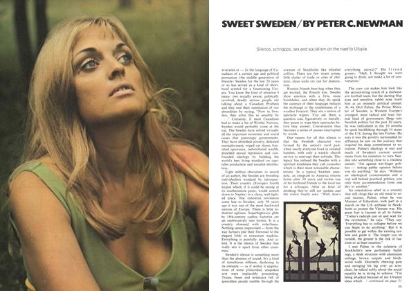 Article Preview: SWEET SWEDEN, October 1971 | Maclean's