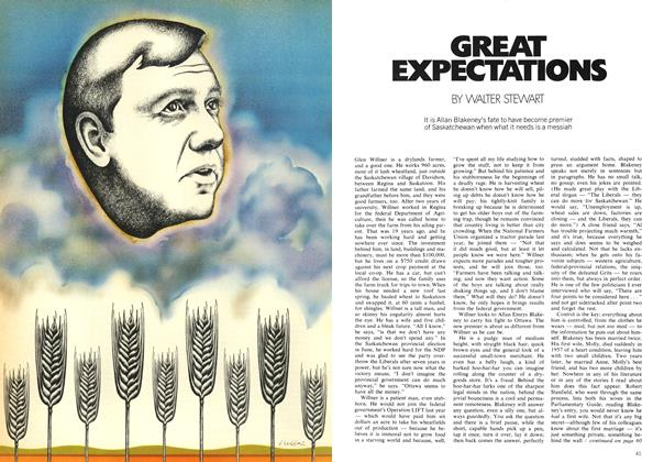 Article Preview: GREAT EXPECTATIONS, October 1971 | Maclean's