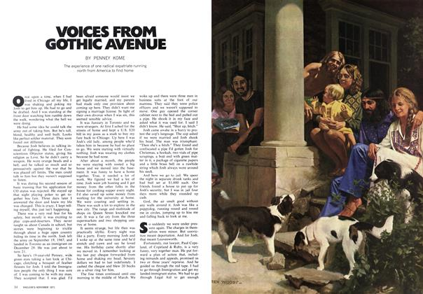 Article Preview: VOICES FROM GOTHIC AVENUE, November 1971 | Maclean's