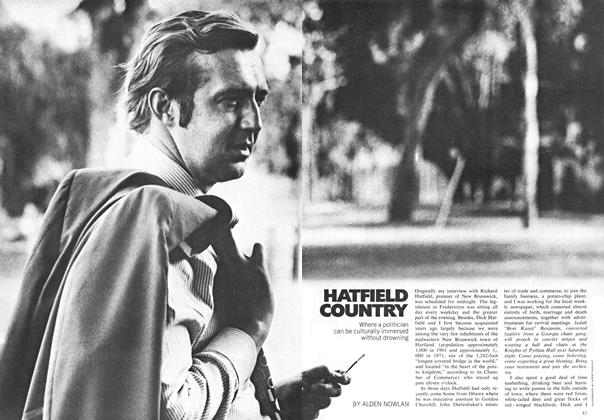 Article Preview: HATFIELD COUNTRY, November 1971 | Maclean's