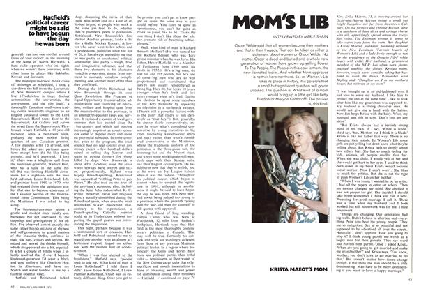 Article Preview: MOM'S LIB, November 1971 | Maclean's