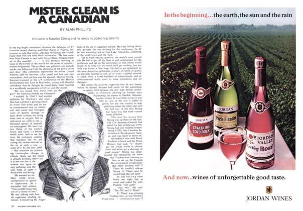 Article Preview: MISTER CLEAN IS A CANADIAN, November 1971 | Maclean's