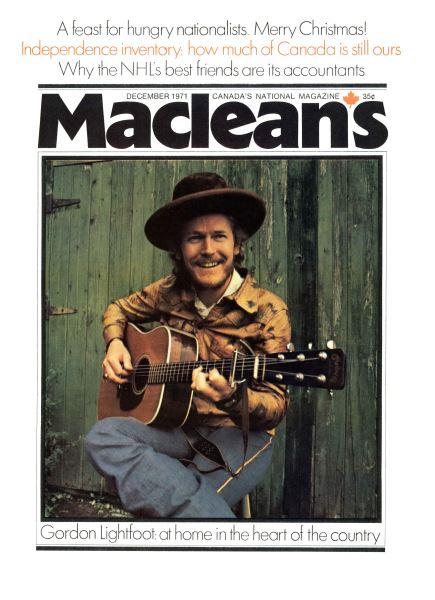 Issue: - December 1971   Maclean's