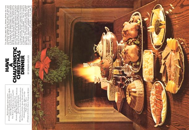 Article Preview: HAVE A CHAUVINISTIC CHRISTMAS DINNER, December 1971 | Maclean's