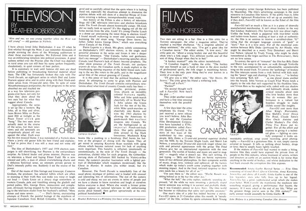 Article Preview: LOVE STORY MEETS HOCKEY NIGHT IN CANADA, December 1971 | Maclean's
