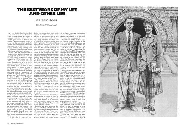 Article Preview: THE BEST YEARS OF MY LIFE AND OTHER LIES, January 1972 | Maclean's