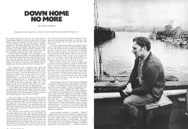 Article Preview: DOWN HOME NO MORE, January 1972 | Maclean's
