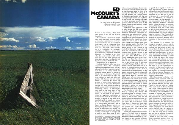 Article Preview: ED McCOURT'S CANADA, February 1972   Maclean's