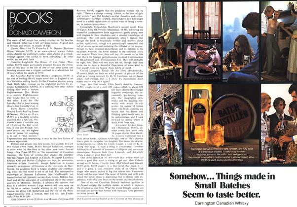Article Preview: THE MUSINGS OF A LITERARY BEACH COMBER, February 1972 | Maclean's