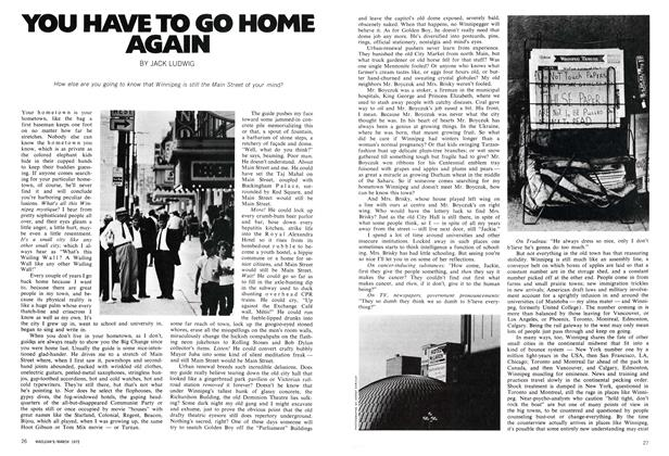 Article Preview: YOU HAVE TO GO HOME AGAIN, March 1972 | Maclean's